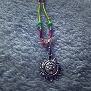 sunflower necklace!